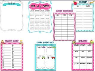Live, Love, Laugh Everyday in Kindergarten: Teacher Binder Organization