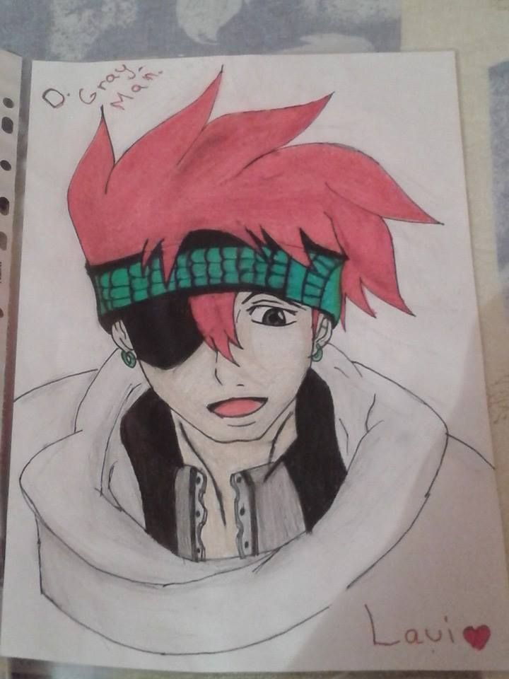 Lavi - D.Gray.Man #Lavi #Dgrayman #anime #drawing