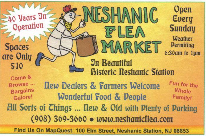 2. Neshanic Flea Market, 100 Elm Street, Neshanic Station