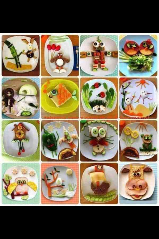 Making healthy kids meals fun