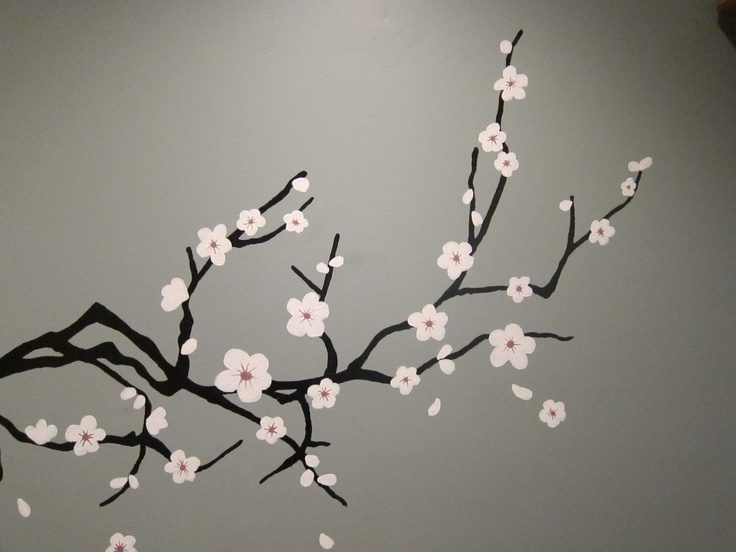 1000 images about cherry blossom on pinterest love for Simple cherry blossom painting