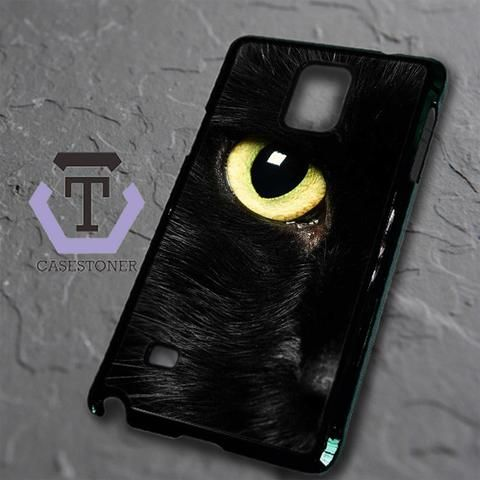 Black Cat Eye Samsung Galaxy Note Edge Black Case