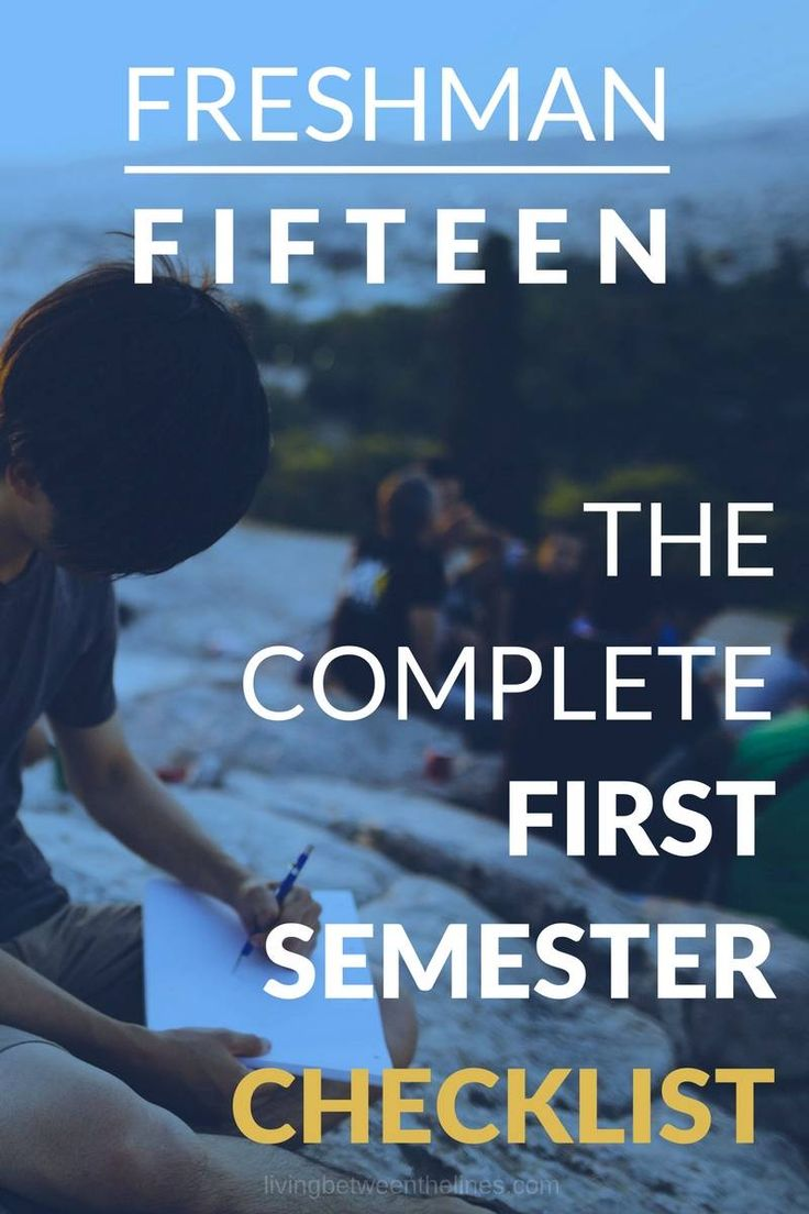 Use this checklist to make sure you're on track to ace your freshman year of college.