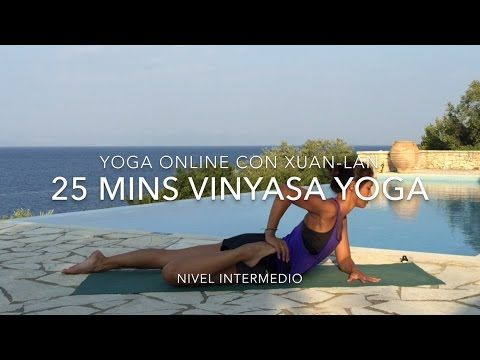 25 min vinyasa yoga - YouTube