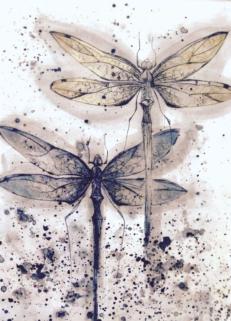 Mejores 383 imágenes de mariposas y libelulas en Pinterest ...