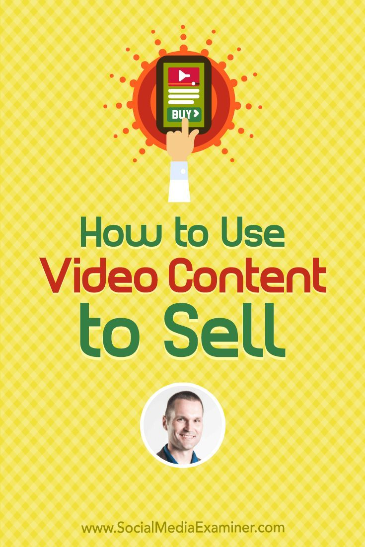 Social Media Marketing Podcast 287. In this episode Marcus Sheridan explores how to sell with video. via @smexaminer