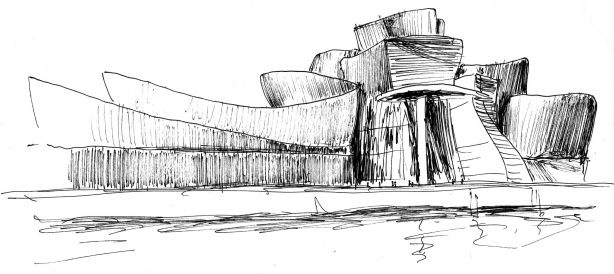 guggenheim museum new york sketch