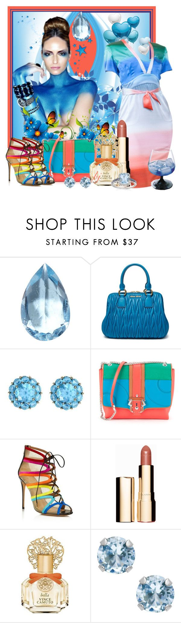 """""""Happy Birthday March 2016 took 2nd"""" by brenda-joyce ❤ liked on Polyvore featuring Loquet, Miu Miu, Color My Life, Wunderkind, Paula Cademartori, Salvatore Ferragamo, Clarins, Vince Camuto, Jewel Exclusive and Ross-Simons"""