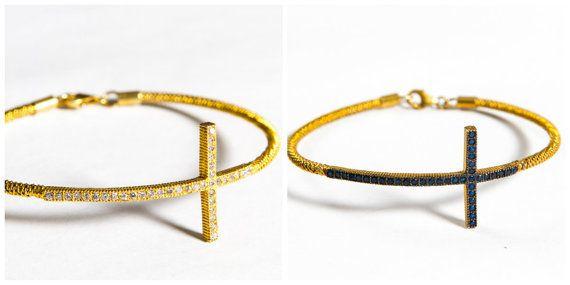 Aelia Bracelet  Sapphire  Zircon  Onyx Semi by TurkuazBazaar, $90.00