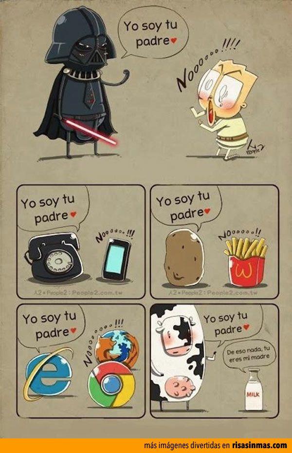Yo soy tu padre...