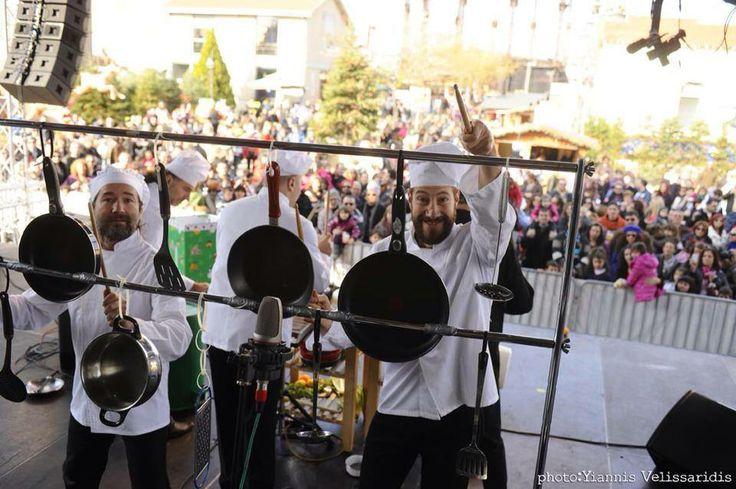 The Cooks #TheChristmasFactory #Technopolis_gazi #athens #technopolis #greece #christmas #lights #cooks