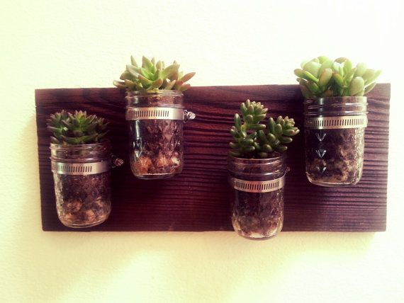 Unique Succulent Plant Holder And Vase Mothers Day Gift