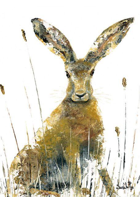All Ears - Sarah Pye Green pebble cards