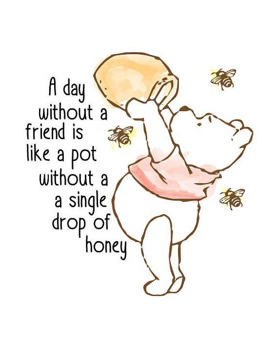Classic Winnie The Pooh Nursery Print – #classic #nursery #Pooh #Print #quotes