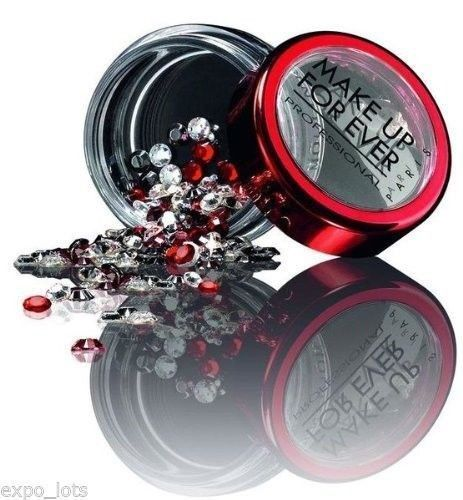 MAKE UP FOREVER MOULIN ROUGE STRASS JEWELS RED, BLACK, CRYSTAL BEADS BOX #MAKEUPFOREVERBRANDNEWINBOX