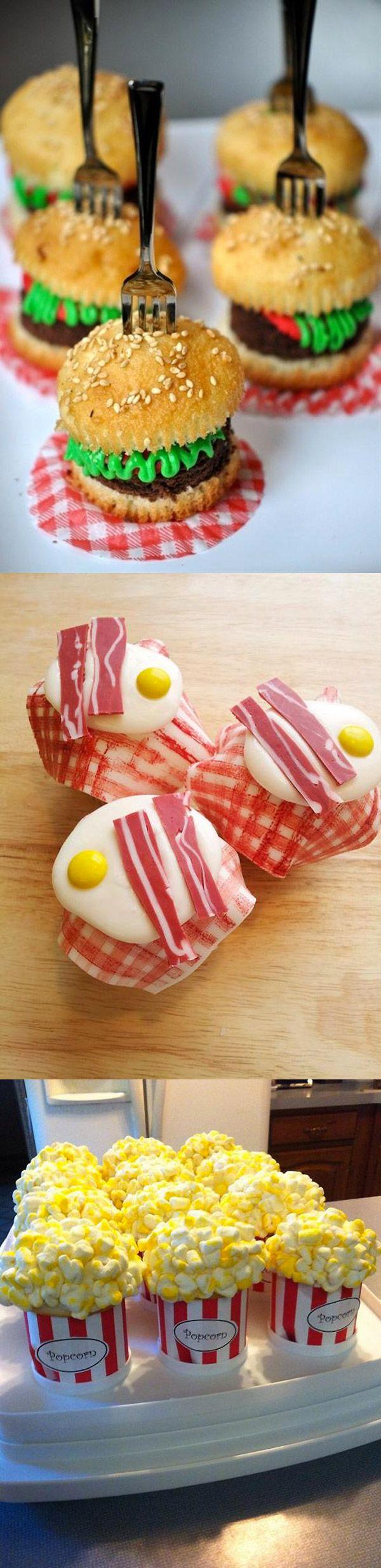 Cupcakes divertidos