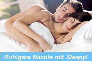 Schnarchen - Schnarchfrei mit Sleepy!