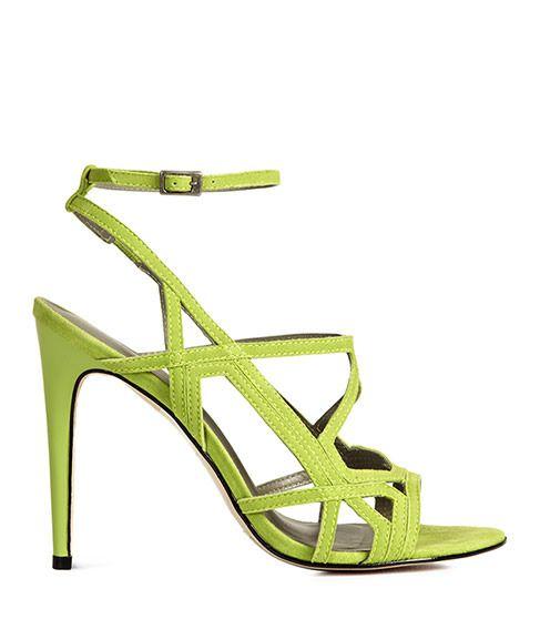 Reiss Grazia Geometric High Sandals