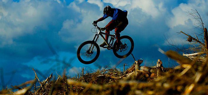 Mountain Biking Great Lake Trail Taupo New Zealand
