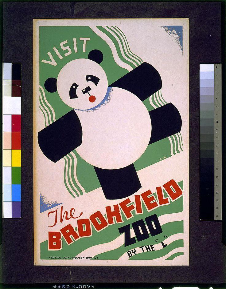 WPA Posters - Brookfield Zoo