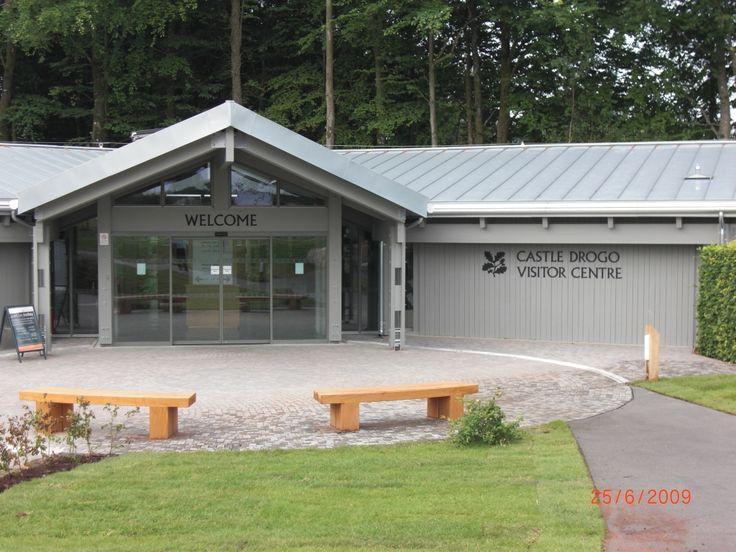 RAL 7030 Castle Drogo Visitors Centre