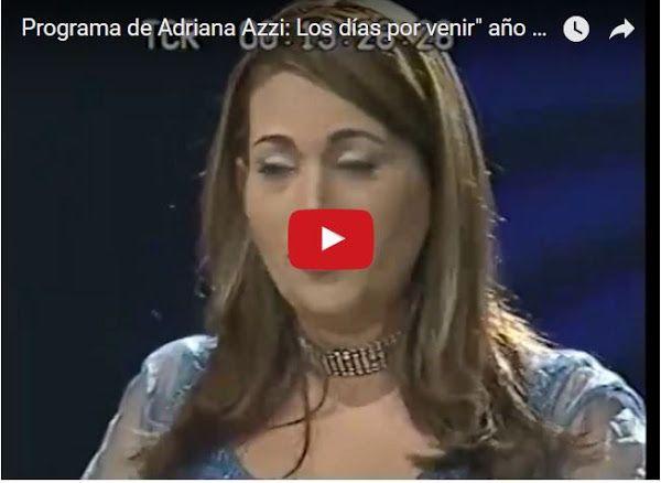 Adriana Azzi con Maduro Leopoldo y Tarek en el mismo programa