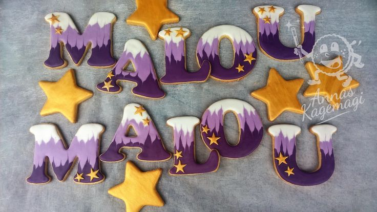 Sugar cookies for Malou's confirmation party
