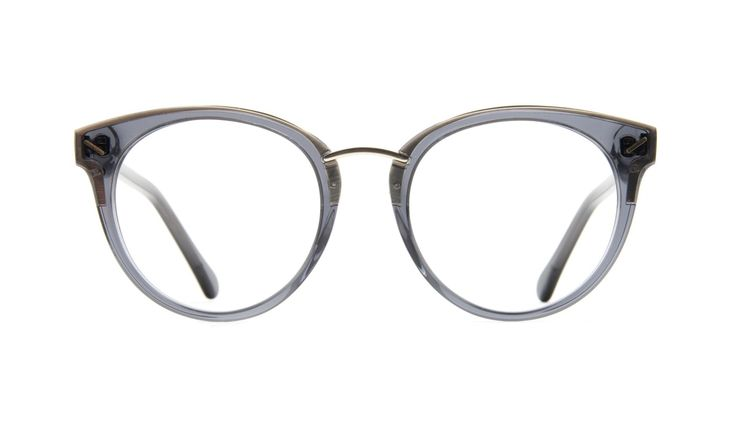 Element Gold shadow - Nerd chic alert! Round with a subtle cateye, Element is the essential accessory for the ones that wants the trendiest glasses of the season.