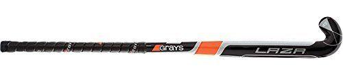 GRAYS Lazr Wooden Junior Hockey Stick, Black, 30in by Grays. GRAYS Lazr Wooden Junior Hockey Stick, Black, 30in. 30in. Black.