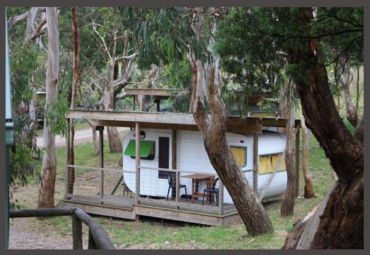bimbi caravan park - just outside apollo Bay on the Great Ocean Rd, Victoria, Australia.