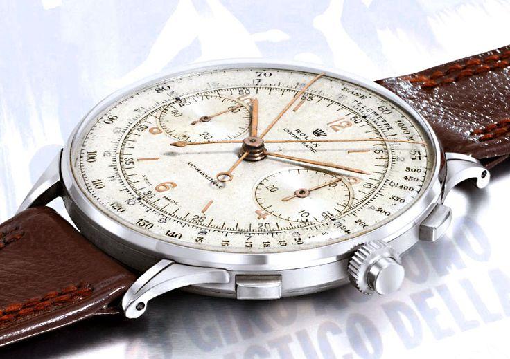 1.17M for a vintage watch... Wow!  1942 Rolex Split-Seconds Chronograph