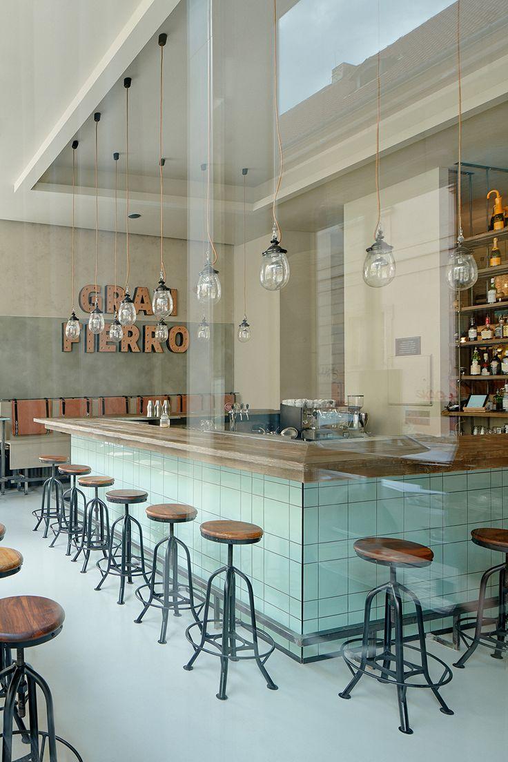 Gran Fierro Prague Restaurant Formafatal 01 Cafe InteriorsRestaurant InteriorsCafe RestaurantDesign