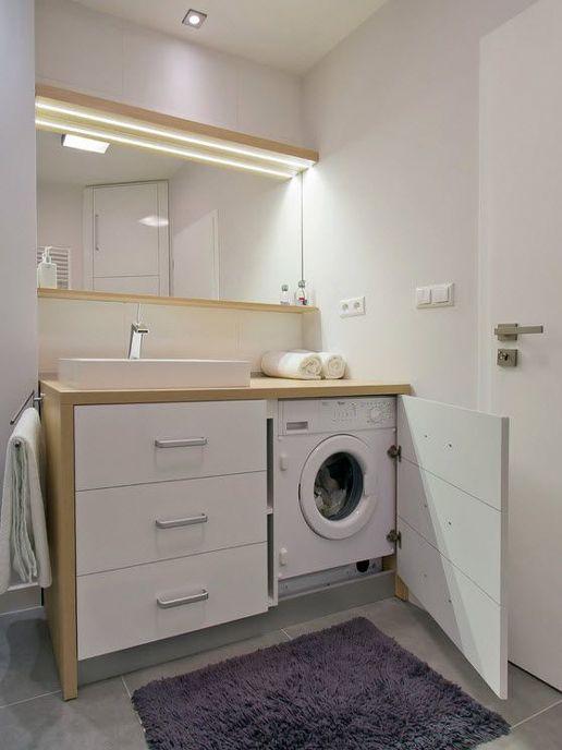 Встраиваемая стиральная машинка