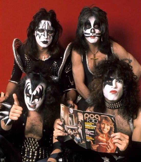 Kiss Band Members Without Makeup: 174 Best KISS Images On Pinterest