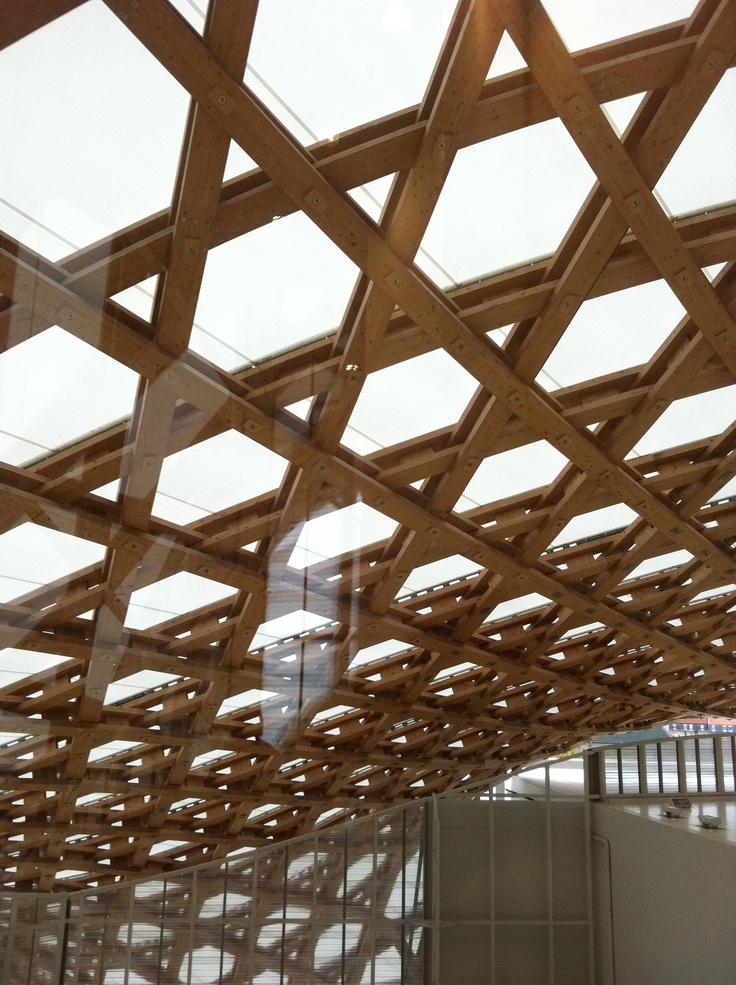 Le toit du centre Pompidou  Metz Jyvai