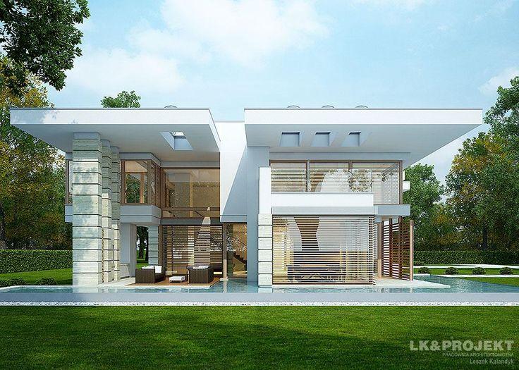 Projekty domów LK&Projekt LK&1099 wizualizacja 1
