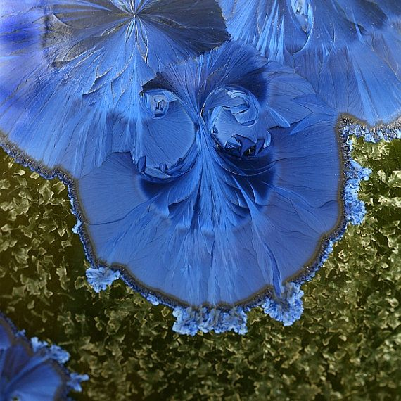 Crystalline Glaze Close Up.