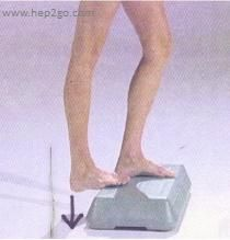 5 great heel stretches.  Easy to perform yet really effective. Abolish heel pain quickly