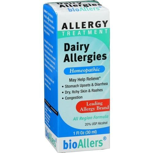 Bio-allers Food Allergy Treatment - Dairy Allergies Unflavored - 1 Oz - 0812008