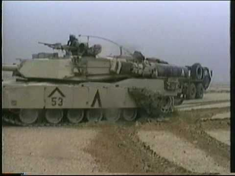 M1 Abrams  Battle of 73 Easting, Gulf War 1991
