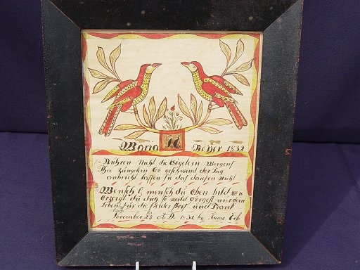 18 best custom awards images on pinterest birth certificate pennsylvania birth certificate hand drawn watercolor birth certificate for maria moyer by issac erb dated november probably lancaster county yadclub Gallery
