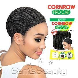 Amore Mio Braided Cap Cornrow Pro Straight Back With Combs - SamsBeauty