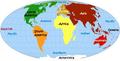 Set foot on each of the seven continents. Got 3 covered already