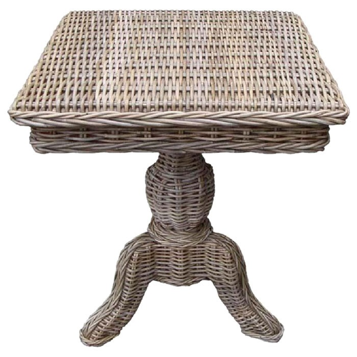 Rattan Living Wicker End Table