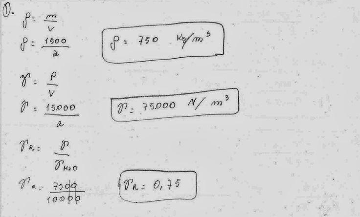 Tudo Engenharia Civil: Exercícios resolvidos de Mecânica dos Fluidos sobre Massa específica, Peso específico, Peso específico relativo, Densidade, Gradiente de velocidade, Lei da viscosidade de Newton, Tensão superficial, Colisão e adesão e Compressibilidade