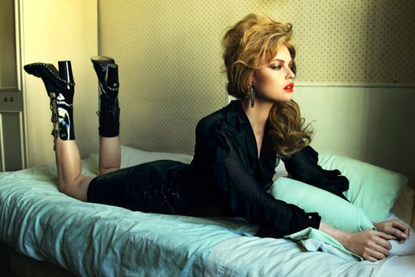 Dasha Zharova Is Motel Chic For Stolnick Magazine By NikolayBiryukov - 3 Sensual Fashion Editorials   Art Exhibits - Anne of Carversville W...