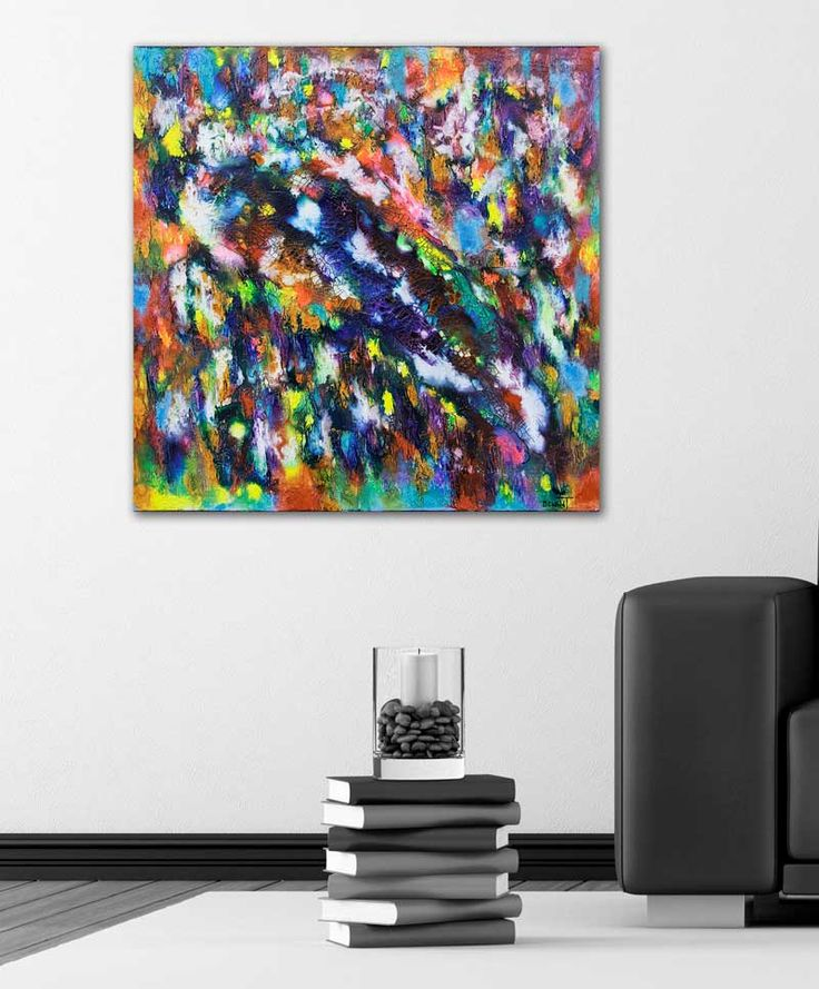 HOME DECOR WITH PAINTINGS !  Diversity II  My website: https://artbylonfeldt.dk/  #art #arts #paintings #painting #fineart #artbylonfeldt