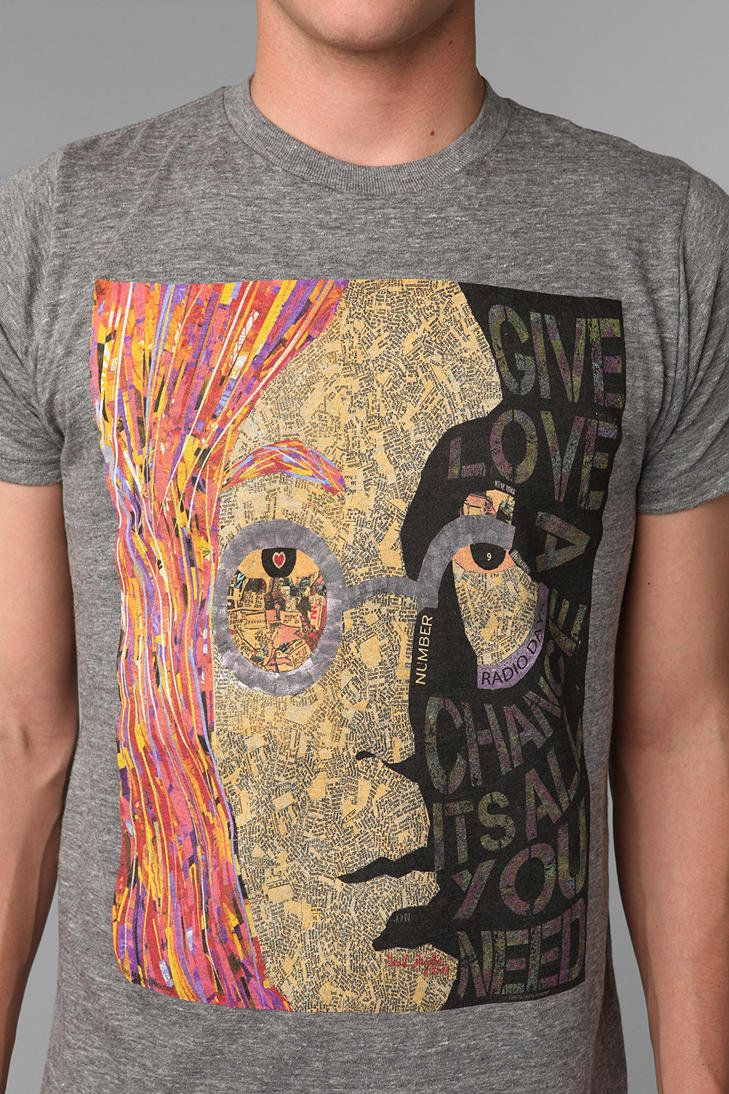 #Urban Outfitters         #love                     #Urban #Outfitters #Lennon #Give #Love #Chance      Urban Outfitters - Lennon Give Love A Chance Tee                              http://www.seapai.com/product.aspx?PID=1530050