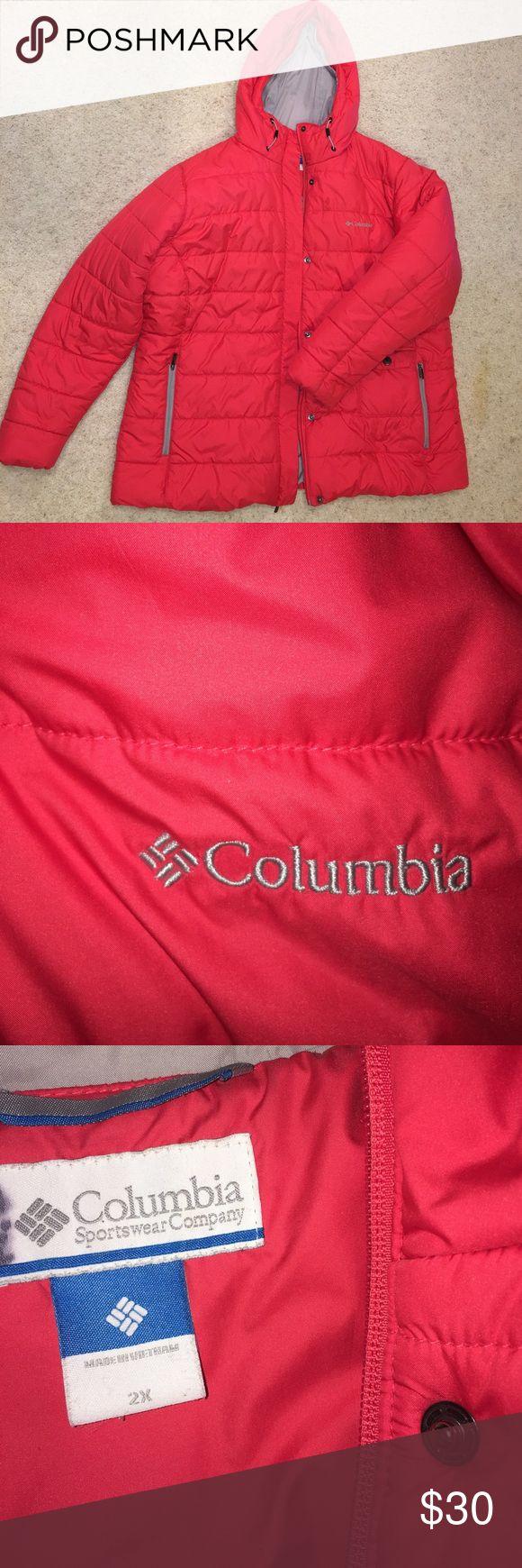 Women's winter coat Orange/ pink colored Columbia coat Columbia Jackets & Coats Puffers