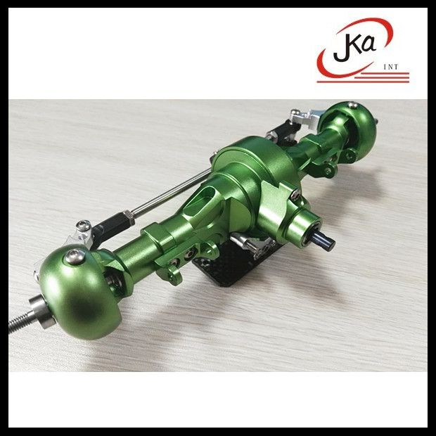 Aluminum alloy front axle for 1/10 scale rc rock crawler axial scx10